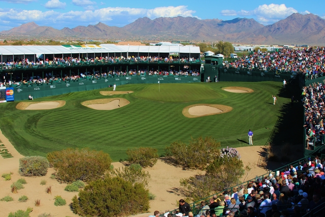 Stadium course at TPC Scottsdale