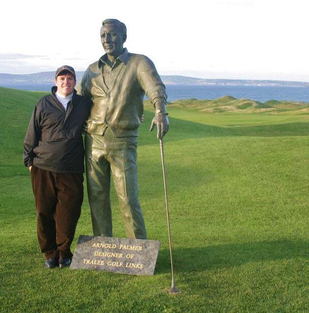 Arnie at Tralee