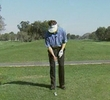 Hitting chip-and-run shots with a 3-iron