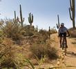 Biking in McDowell Preserve