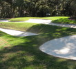Harbour Town Golf Links at Sea Pines Resort - hole 11 bunkers