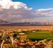 Las Vegas Paiute Golf Resort - Sun Mountain - hole 17
