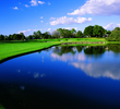 The 18th hole at Bay Hill Club & Lodge