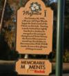 Disney's Magnolia Golf Course - tee marker
