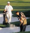 Bali Hai Golf Club in Las Vegas - sand