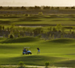 Links at Summerly golf course - sunset