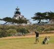 Pacific Grove Golf Links - Point Pinon Lighthouse