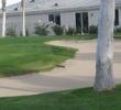 Desert Princess Country Club - Palm Springs area course - bunker/house