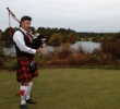 Thistle Golf Club - bagpiper
