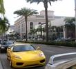 Rodeo Drive - Beverly Hills' ritzy shopping - Ferrari