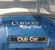 Cowboys Golf Club - cart with Dallas Cowboys star