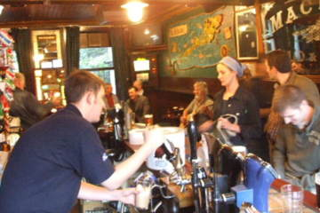 Pubs will be alive in Edinburgh when the World Cup of Rugby comes to town this fall.