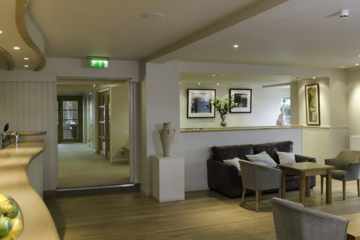 St. Brides Hotel in Saundersfoot is a stylish, contemporary hotel and spa.