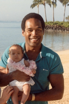 O.J. Simpson (seen in happier times with his daughter) tops the Golfer Supremacy Rankings.