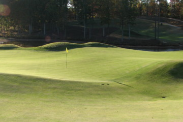 Think you can go for it at Reynolds Plantation's Creek ...