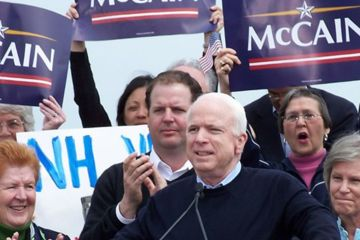 John McCain was just one of the Republican presidential candidates to sound off on golf at Thursday's debates at the Myrtle Beach Convention Center.