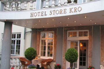 The Hotel Store Kro was, and still is, used to host royal gatherings.