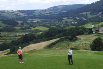 The Celtic Manor Resort and a round at the Montgomerie Course will give you a hot shower and a proper introduction to golf in Wales.