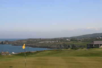 Heathland Bull Bay Golf Club on the Isle of Anglesey has all the excitement - and views - of a coastal links.