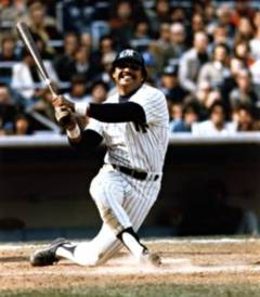 Reggie Jackson once hit three home runs in a World Series game.