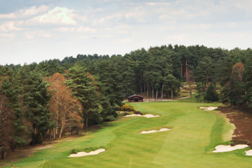 The sublime 10th hole on Sunningdale Golf Club's Old Course.