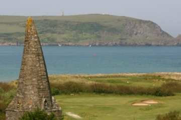 St. Enodoc Golf Club's Church Course in Cornwall gets its name from the 12th century church it passes on the back nine.