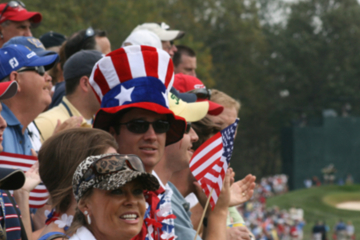 The U.S. Ryder Cup team couldn't have overcome Europe without the unwavering support of their home crowd.