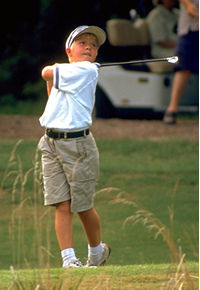 LPGA Professional Kelly Kleckner advises encouraging your children who golf to compete - but warns against forcing the issue.
