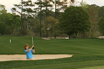 What works for a tour professional won't work for the average female golfer because of her slower swing speed.