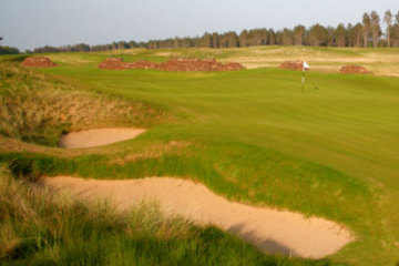 American architect Tom Doak's Renaissance Club will open next door to Muirfield and North Berwick in East Lothian.