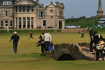 St. Andrews, Old Course - Swilcan Bridge
