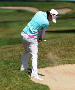 Better players prefer to be in a greenside bunker than chipping from rough around the green. Why? They use the sand to their advantage.