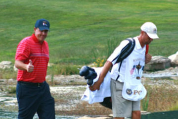 Despite a difficult year, Phil Mickelson again proved he is supreme with golf club in hand.