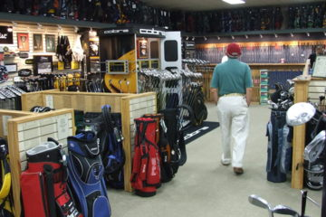 Try as you might, golfers, you just can't buy a better game in the pro shop