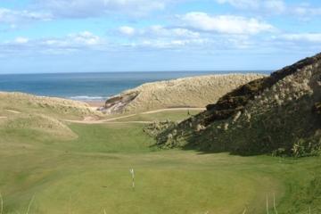 Cruden Bay Golf Club boasts astonishing vistas of both classic Scottish dunesland and the North Sea.