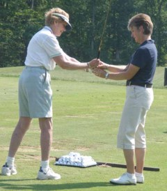 We golfers need someone else to evaluate our performance.