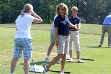 """""""Doing the four ball"""" on the practice range can help keep your swing in balance."""