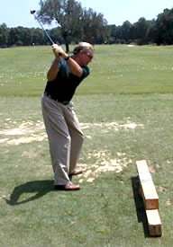Golf tip: Get rid of that slice! Work the club from the inside