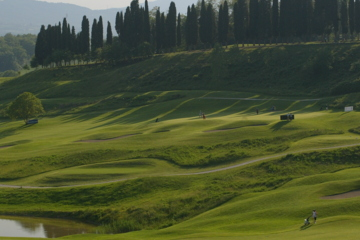 Poggio dei Medici, one of Tuscany's best-known golf courses, opened in 1992.