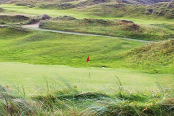 Dunes are aplenty at the Island Golf Club.