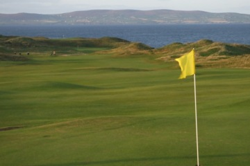 Tralee Golf Club is a century-old club but boasts a new links designed by Arnold Palmer in 1984.