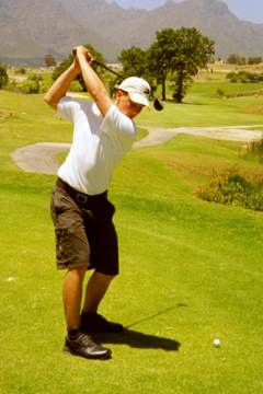keeping your lead arm straight is an important, but often misunderstood part of a good golf swing.