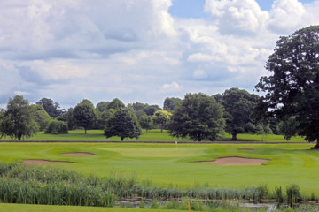Christy O'Connor Jr. made great use of the natural features on the New Course at Headfort.
