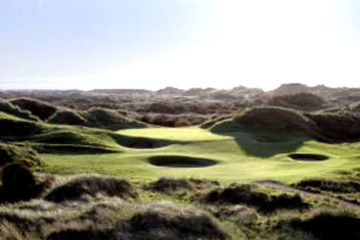 Royal Birkdale Golf Club's tough terrain and sea winds make it one of northwest England's most challenging plays.