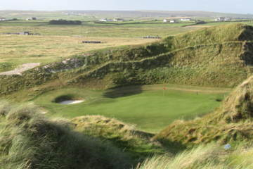 Carne Golf Links: One of many world-class links courses in Northern Ireland.