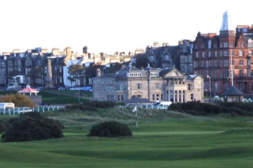 It may be famous for the golf, but St. Andrews is a happening college town at heart.