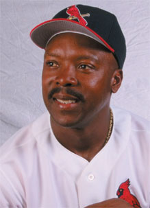 Vince Coleman struck fear into the hearts of pitchers and catchers during his Cardinal days.