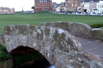 The Old Course at St. Andrews is the most prestigious of all in Scotland, but did it make the top of Tucker's Top Ten list?