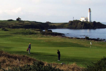 Turnberry's Ailsa course in Scotland is gearing up to welcome back the Open Championship in 2009.