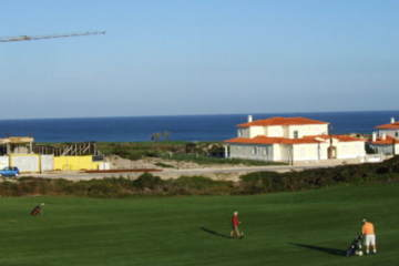 Real estate and construction intrude on the stunning ocean views at Praia D'el Rey.